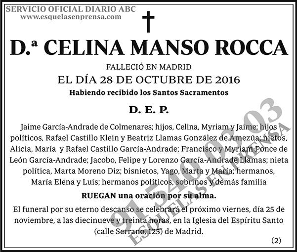 Celina Manso Rocca